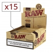 Feuille a rouler Raw Artesano Slim et Tips x 15