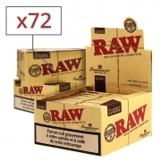 Papier à rouler Raw Slim + Tips x 24 PACK de 3