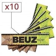 Papier a rouler Beuz Slim Brown x10