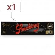 Papier à rouler Smoking Slim Deluxe noir x1