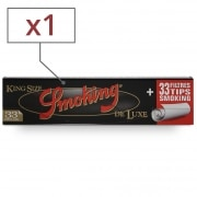 Feuille a rouler Smoking Slim Deluxe et Tips x 1