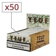 Papier à rouler Yeuf Slim Pure x 50
