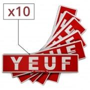 Papier à rouler Yeuf Slim Original x 10