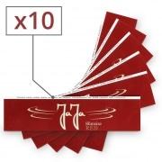 Papier a rouler Jaja Red Slim x 10