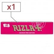 Papier à rouler Rizla + Micron Pink Slim x 1