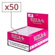 Papier à rouler Rizla + Micron Pink Slim x 50
