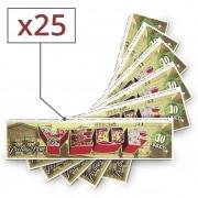 Papier à rouler Yeuf Slim Kayone x 25