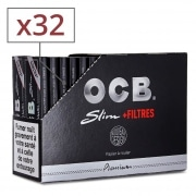 Feuille a rouler OCB Slim et Tips x 32