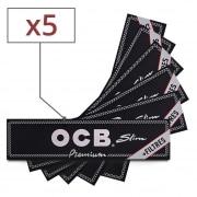 Feuille a rouler OCB Slim et Tips x 5