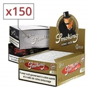 Papier à rouler Smoking Slim Pack 3 boites assorties