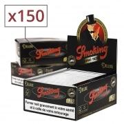 Papier à rouler Smoking Slim Deluxe noir x50 PACK de 3