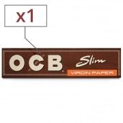 Papier à rouler OCB Slim Virgin x 1