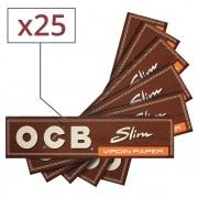 Papier à rouler OCB Slim Virgin x 25