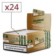 Papier à rouler Rizla + Bamboo Slim et Tips x 24