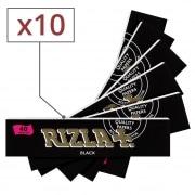 Papier à rouler Rizla Black Slim x10