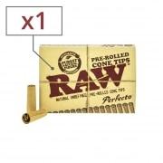 Filtre carton Raw Cône pré-roulé x 1