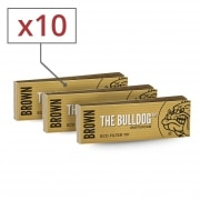 Filtres carton The Bulldog Brown x 10
