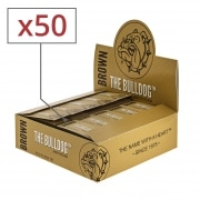 Filtres carton The Bulldog Brown x 50