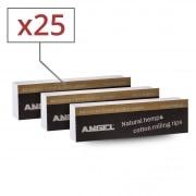 Filtres en carton Angel perforés x 25