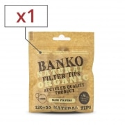 Filtres Slim banko Natural x 1