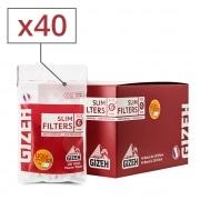 Filtres Gizeh Slim x 40 sachets