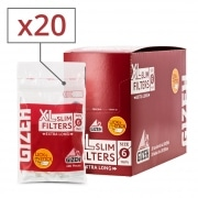 Filtres Gizeh Slim 6 mm Long x 20 sachets