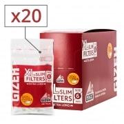 Filtres Gizeh Slim 6 mm Long x 20 sachets