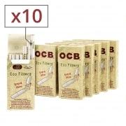 Filtres OCB Chanvre Bio Extra Slim en stick x10
