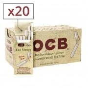 Filtres OCB Chanvre Bio Extra Slim en stick x20