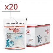 Filtres David Ross Slim x 20 sachets