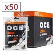 Filtres OCB Long Extra Slim x 50 sachets