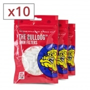 Filtres Slim The Bulldog x 10