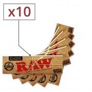 Papier a rouler Raw Simple Tirage x 10