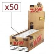 Papier a rouler Raw Simple Tirage x 50