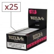 Papier à rouler Rizla Black double x 25