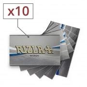 Papier à rouler Rizla + Micron x 10