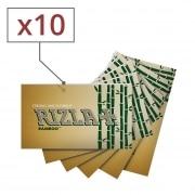 Papier à rouler Rizla + Bamboo x 10