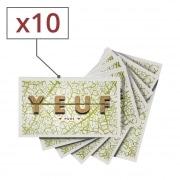 Papier à rouler Yeuf Pure x 10