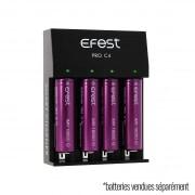 Chargeur 4 batteries Efest e cigarette