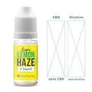 CBD E liquide super lemon haze 0mg