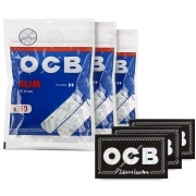 Pack OCB Feuilles Regular Filtres Slim