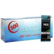 Pack Tubes Banko Carte Frizc Menthol