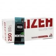 Pack Tubes Gizeh Silver Tip Carte Frizc Menthol