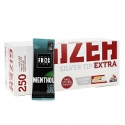 Pack Tubes Gizeh Silver Tip Extra Carte Frizc Menthol