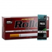 Pack Tubes Rollo Red Ultra Slim Carte Frizc Menthol