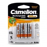 Pile Camelion AAA 1.2 V Rechargeable x 4