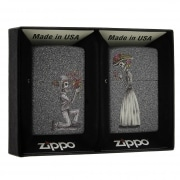 Zippo Day of Dead Skulls