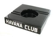 Cendrier Havana Club Carré Noir Double