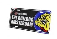 Plaque métal The Bulldog