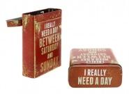 Boite a cigarette Vintage Need a day